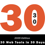 30 Web Tools logo from 2009 edition