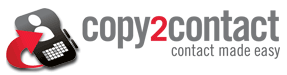 Copy2Contact Logo and Link