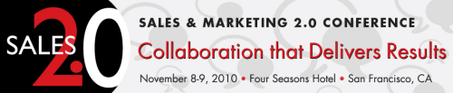 Sales and Marketing 2.0 Conference Logo and Information