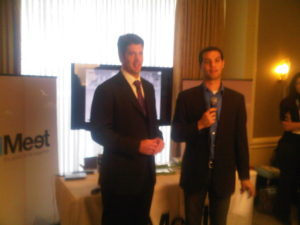 @toddmccormick being interviewed during the conference