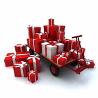 Christmas Packages Graphic