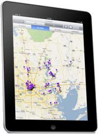 iMap pin map