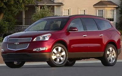 Chevy Traverse crossover
