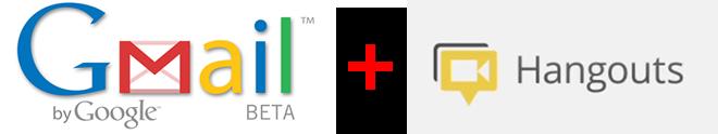 Gmail plus Hangouts Graphic