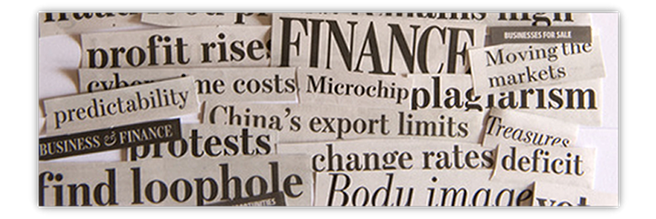 Newspaper headlines © forcdan - Fotolia.com