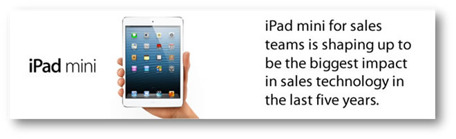 iPad mini with quote from Miles Austin