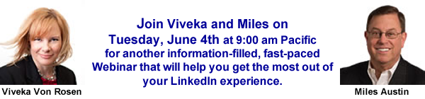 LinkedIn Advanced header with Viv and Miles