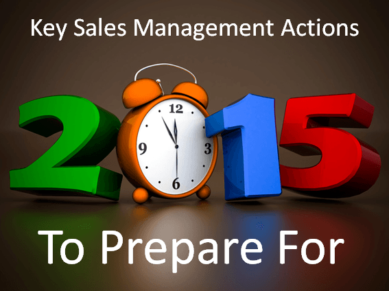 Sales Management Prep for 2015