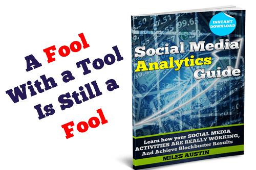 Social Media Analytics Twitter card