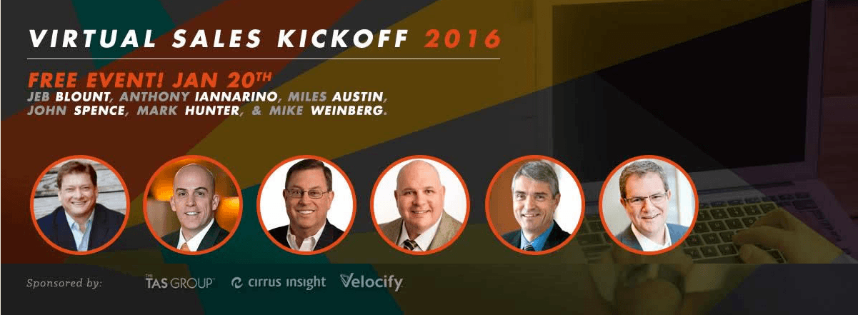 Virtual Sales Kickoff 2016
