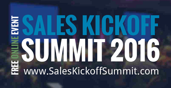 Sales Kickoff Summit 2016