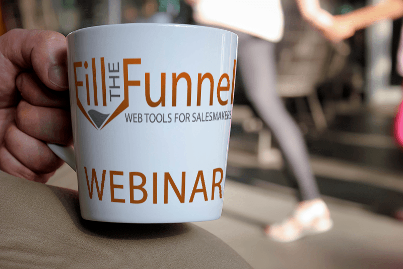 Fill the Funnel Webinar Mug
