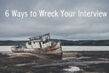 wreck your interview