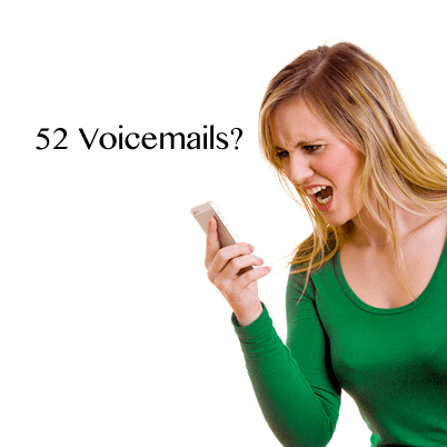 sales career 52 voicemails